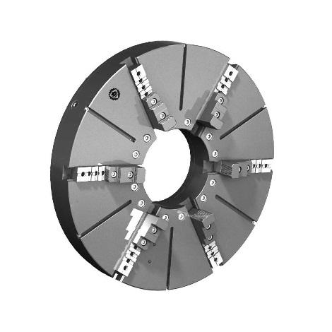 Токарный патрон большого диаметра тип 3805