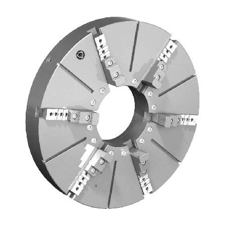 Токарный патрон большого диаметра тип 3807