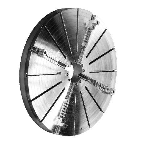 Токарный патрон большого диаметра тип 4307