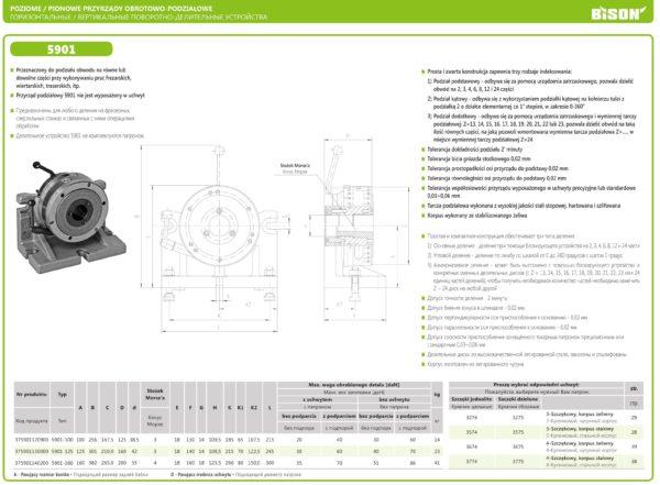 Делительный стол тип 5901