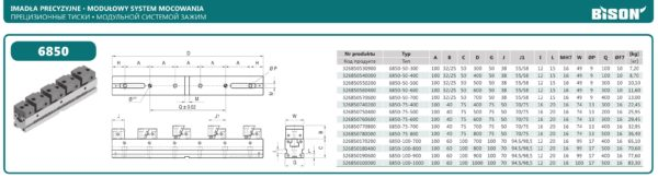 Модульная система зажима тип 6850
